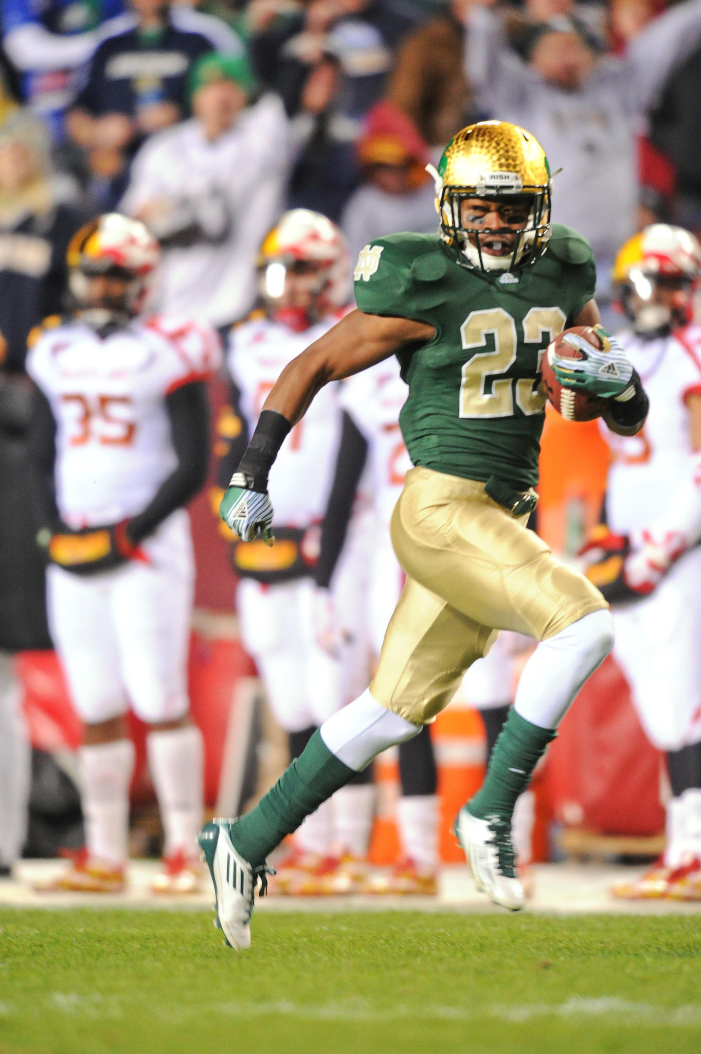 Lo Wood is leaving Notre Dame for Miami of Ohio.