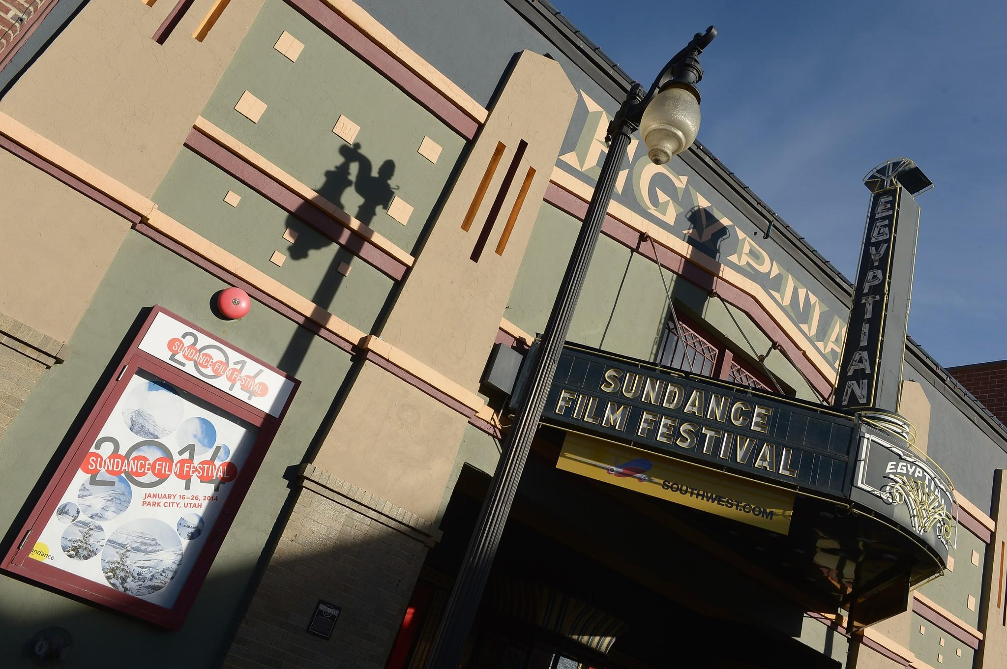 The Egyptian Theater is one of several venues hosting screenings during the Sundance Film Festival in Park City, Utah.