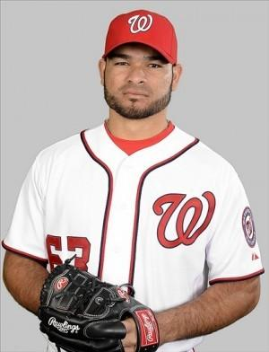 The Miami Marlins signed former Washington Nationals' closer Henry Rodriguez to a minor league contract with an invite to spring training.
