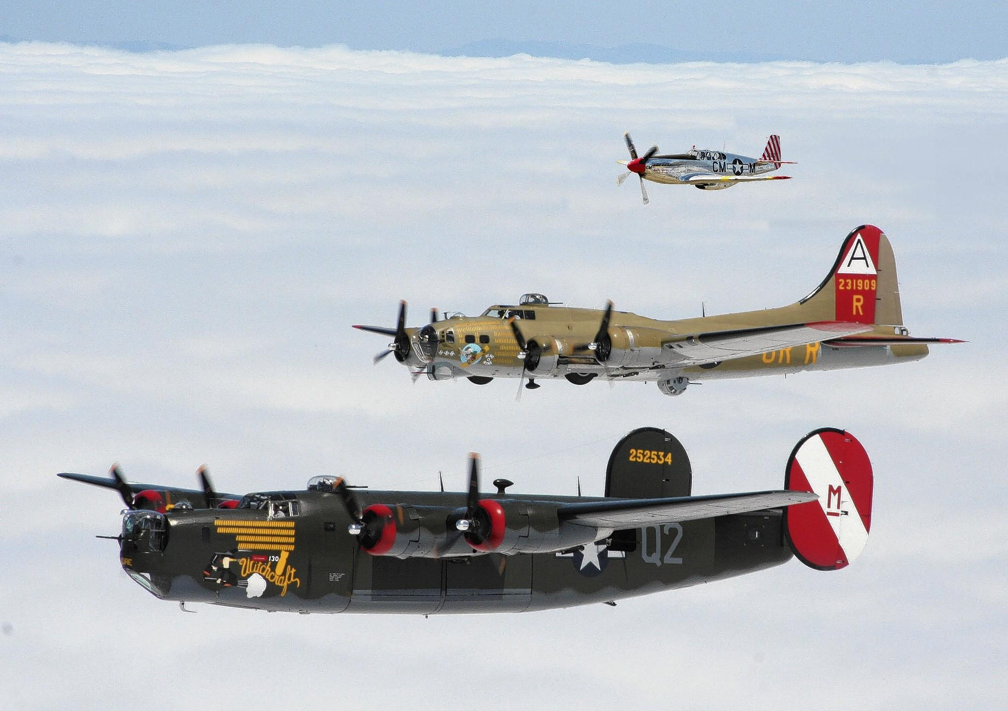 The Wings of Freedom tour, featuring a B-17, B-25 and P-51, is landing at Leesburg International Airport on Friday.