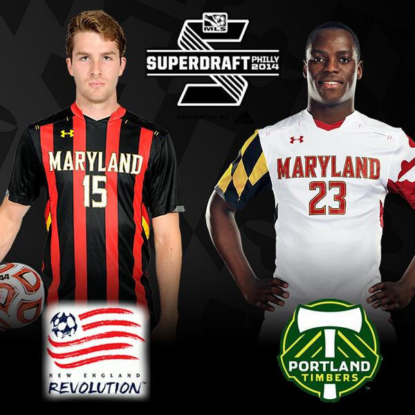 Patrick Mullins was picked by the New England Revolution and Schillo Tshuma went to the Portland Timbers in Thursday's MLS SuperDraft.