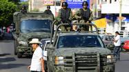 Mexican forces in Michoacan increase arrests, patrols