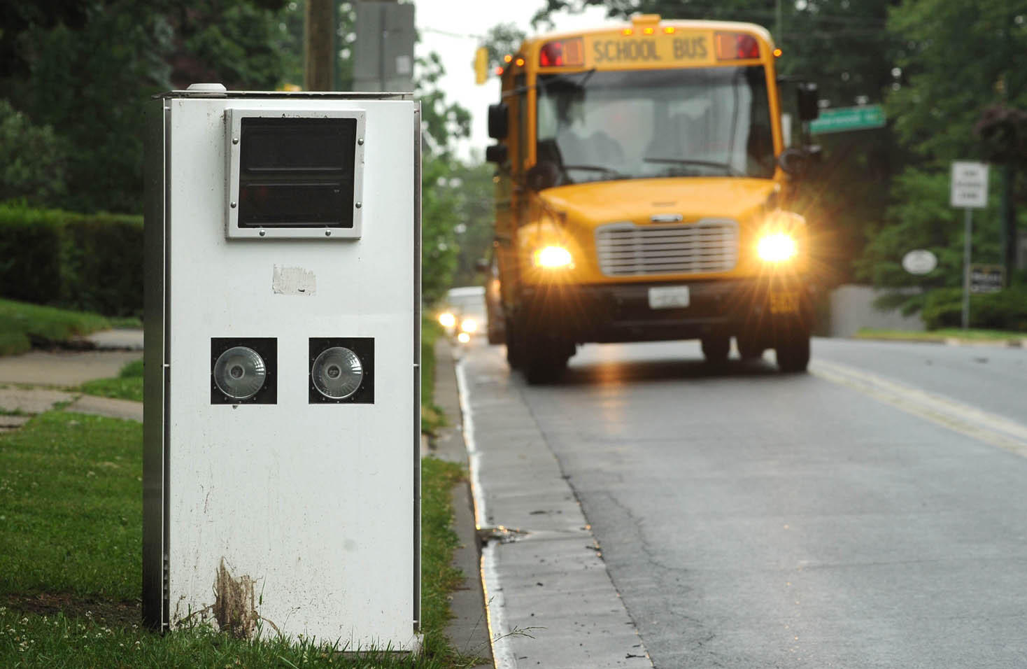 Speed cameras similar to this one have been in operation in Annapolis since April 2013.