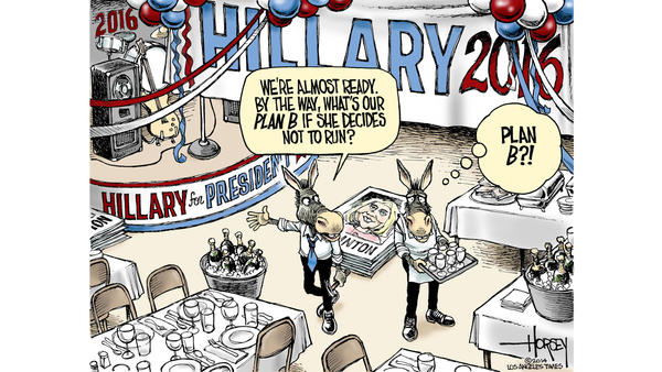 Editorial cartoon of the day:  Party politics