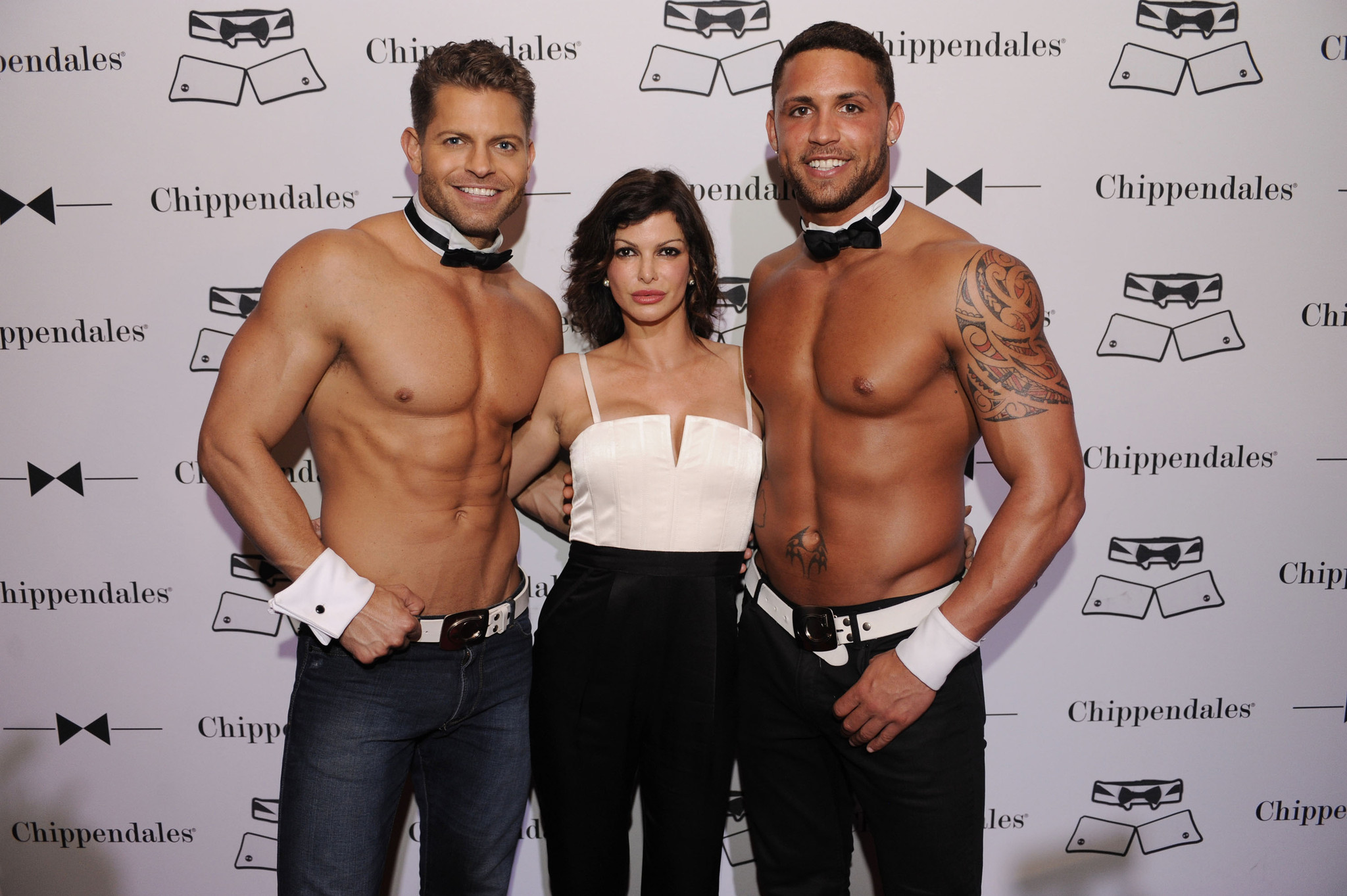 Chippendales open in Miami Beach - Jayme Vaughn, Carla Pellegrino and Matt Marshall2