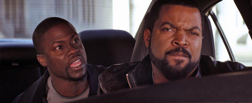 """Ride Along,"" starring Kevin Hart, left, and Ice Cube, is expected to drive off with first place this weekend."