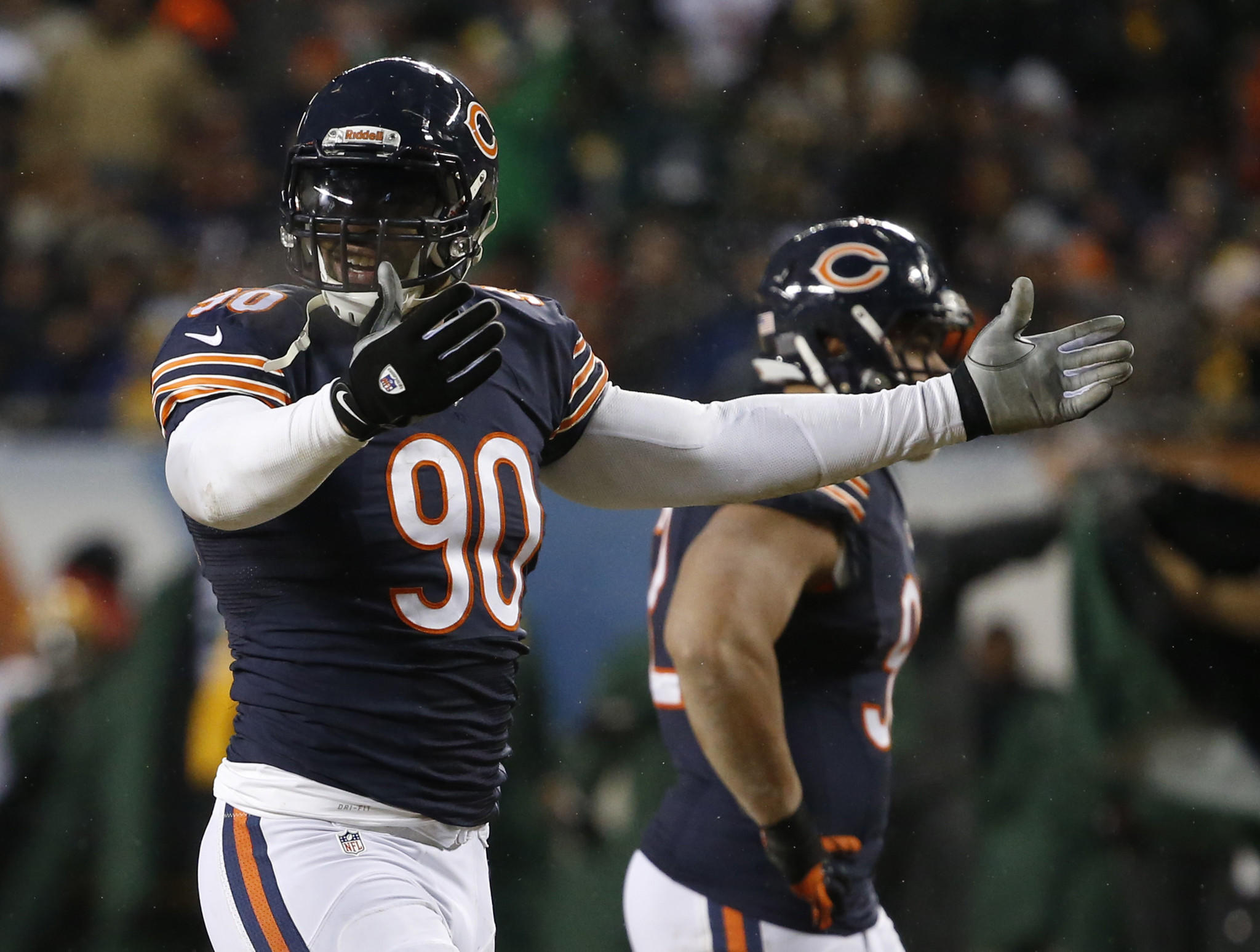 Chicago Bears defensive end Julius Peppers.