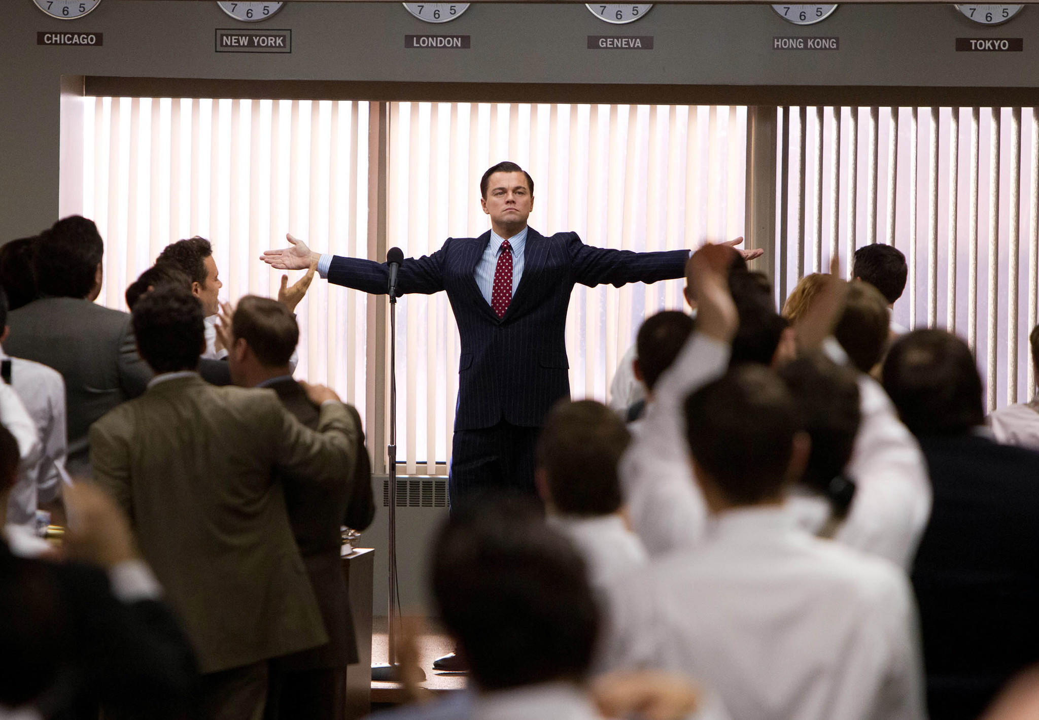"""Paramount's """"The Wolf of Wall Street"""" is the first major Hollywood movie to be distributed entirely in digital format -- without the use of film or film reels on which the industry has depended since it began."""
