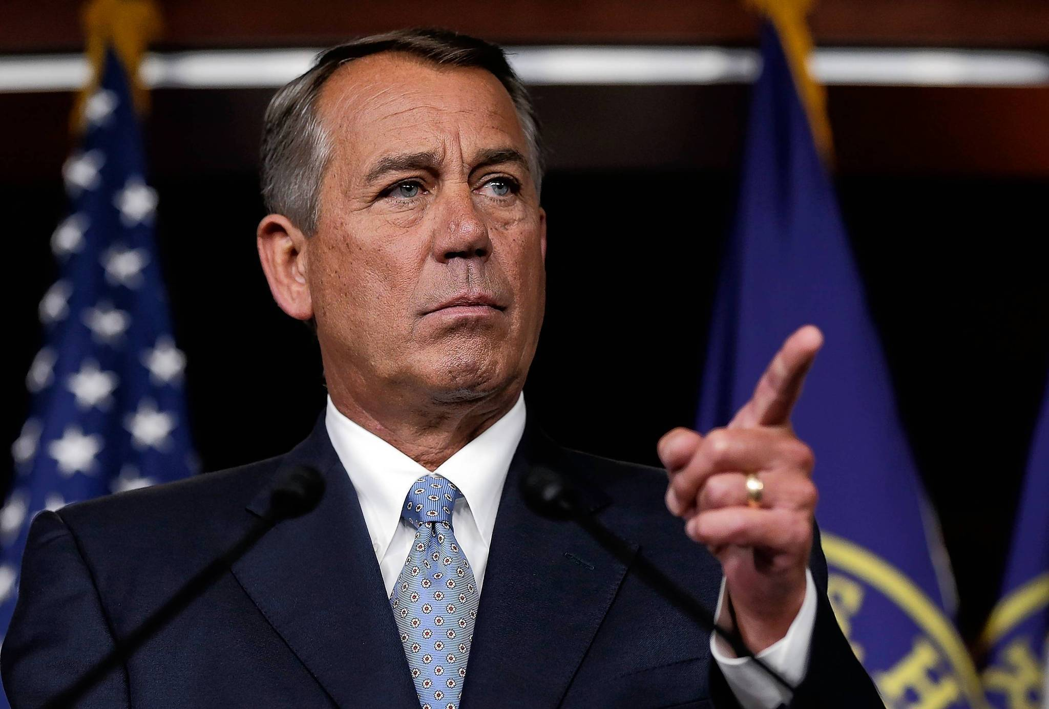 "House Speaker John Boehner, R-Ohio, had a bad year. Democrats chided him for getting little done but holding 40 meaningless votes to repeal Obamacare. Senate Majority Leader Harry Reid, D-Nev., called Boehner, ""A coward! He's a coward!"" Tea partyers threatened to dump Boehner as speaker. The three moderate Republicans left just shook their heads. ""I'm what you'd call a regular guy with a big job,"" Boehner said. Later he said disconsolately, ""I need this job like I need a hole in the head."""