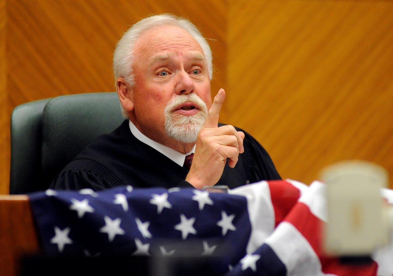 Former U.S. District Chief Judge Richard F. Cebull in 2011.