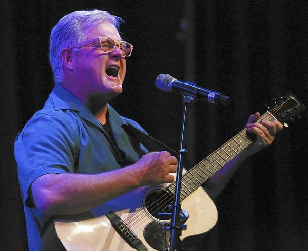 Sandy Shugart performs at the Garden Theatre in Winter Garden on Saturday, January 11, 2014.