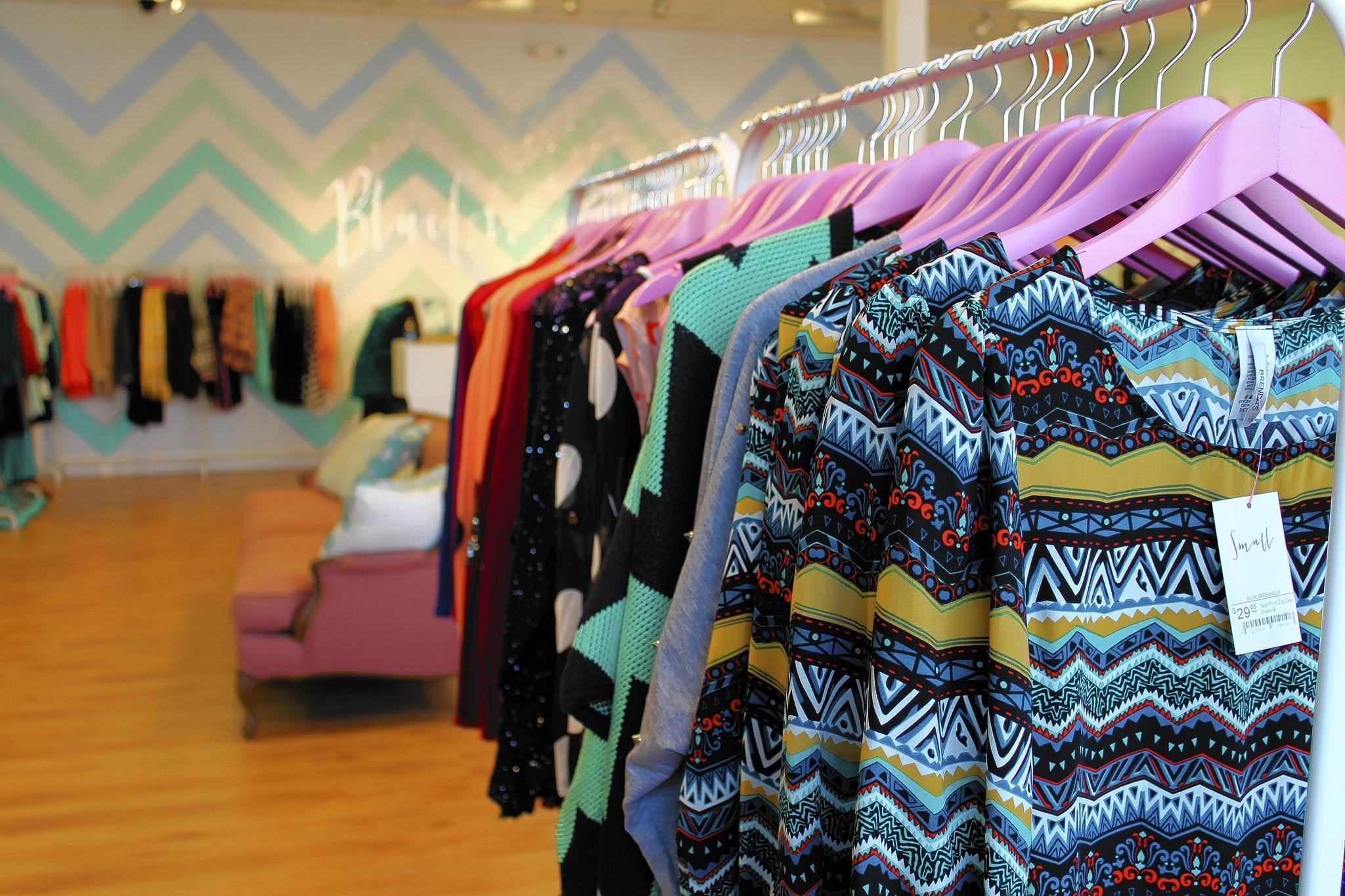 Blue Green Aqua, a women's fashion boutique, opened in New Town in Williamsburg in October.