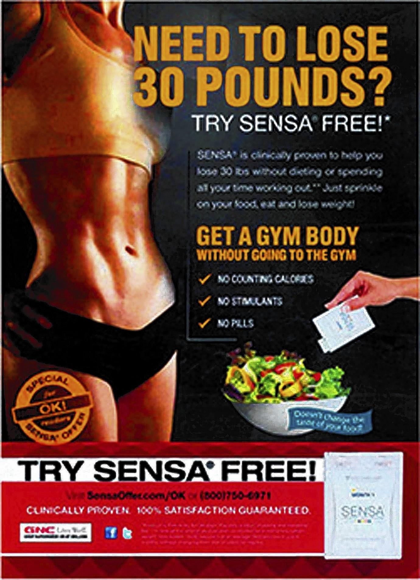 Sensa will refund $26.5 million to customers following a settlement with the Federal Trade Commission, which alleged the company made unsubstantiated claims about its weight-loss products.