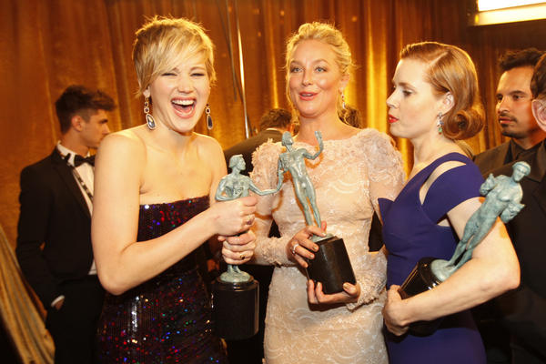 Screen Actors Guild Awards backstage