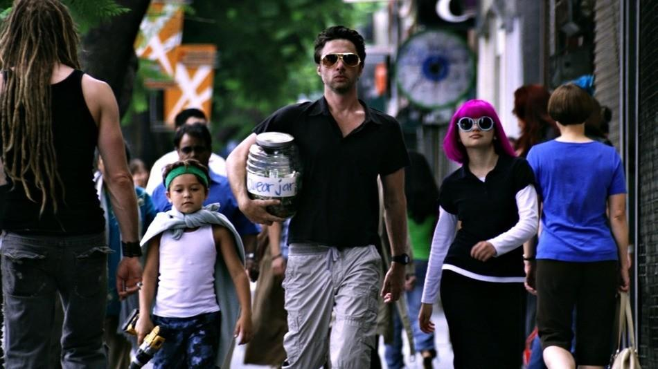 "A scene from Zach Braff's ""Wish I Was Here"""