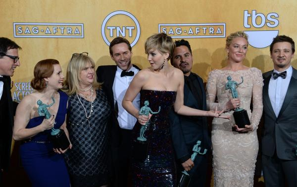 """American Hustle"" cast wins SAG Award"
