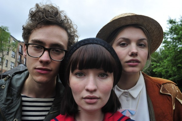 "Olly Alexander, Emily Browning and Hannah Murray in Stuart Murdoch's ""God Help the Girl."""