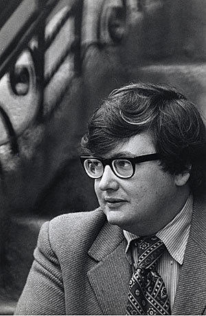 """Photo of Roger Ebert from the film """"Life Itself."""""""