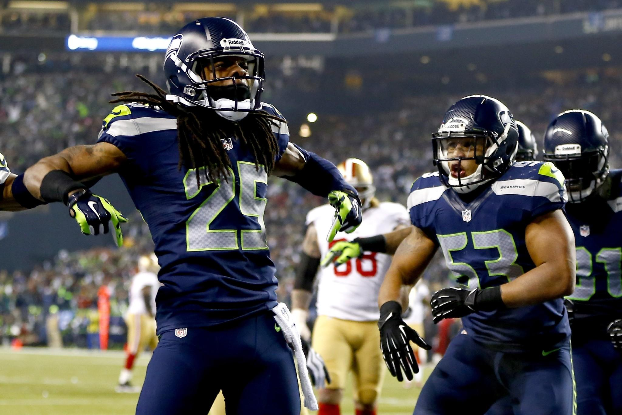 Game Against the Saints | Richard Sherman