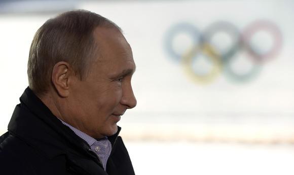 Vladimir Putin in Sochi