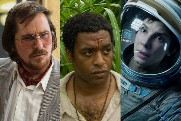 """American Hustle,"" ""12 Years a Slave,"" ""Gravity"""