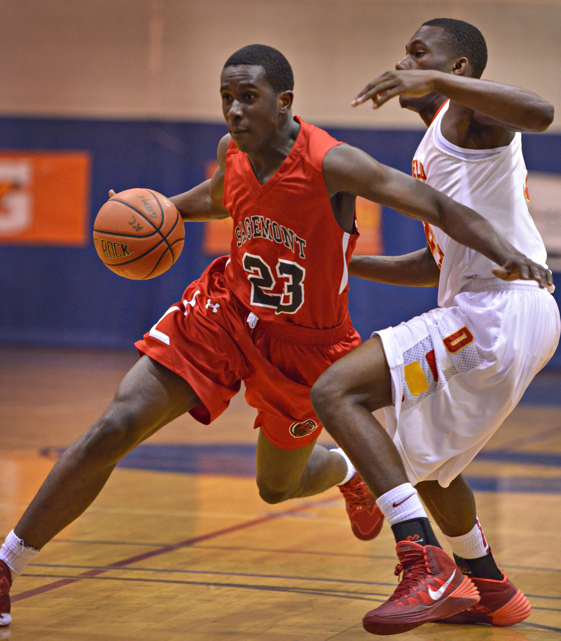 The Sagemont boys basketball team, behind Prince Ali, sits atop the Sun Sentinel rankings this week.