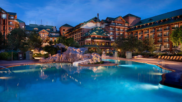 Walt Disney World's Wilderness Lodge has been added to AAA's prestigious four-diamond list, one of only seven Florida properties to join the list in 2014.