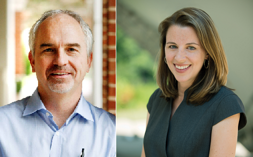 CNU's Quentin Kidd and W&M's Allison Orr Larsen were selected for SCHEV's 2014 Outstanding Faculty Award.