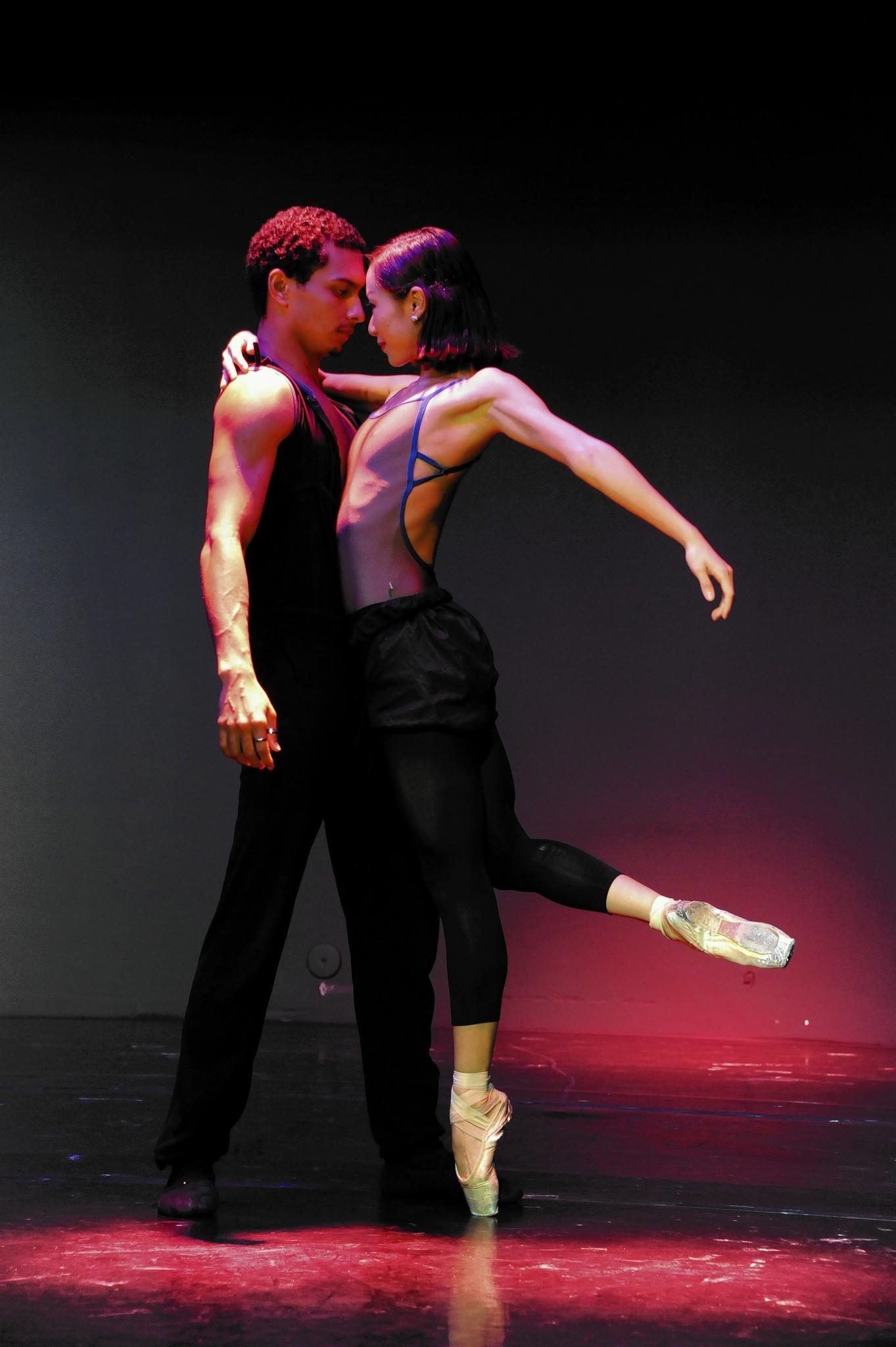Orlando Ballet dancers Lamin Pereira and A reum Chung.