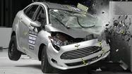 Minicars fall short for small overlap frontal protection