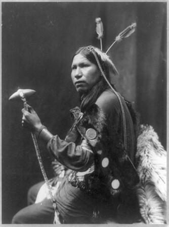 Afraid Of Hawks, a 20-year-old Lakota Sioux who performed in Buffalo Bill's Wild West Show. He died in 1900 while performing in Danbury. His remains were exhumed in 2008 by State Archaeologist Nicholas Bellantoni.