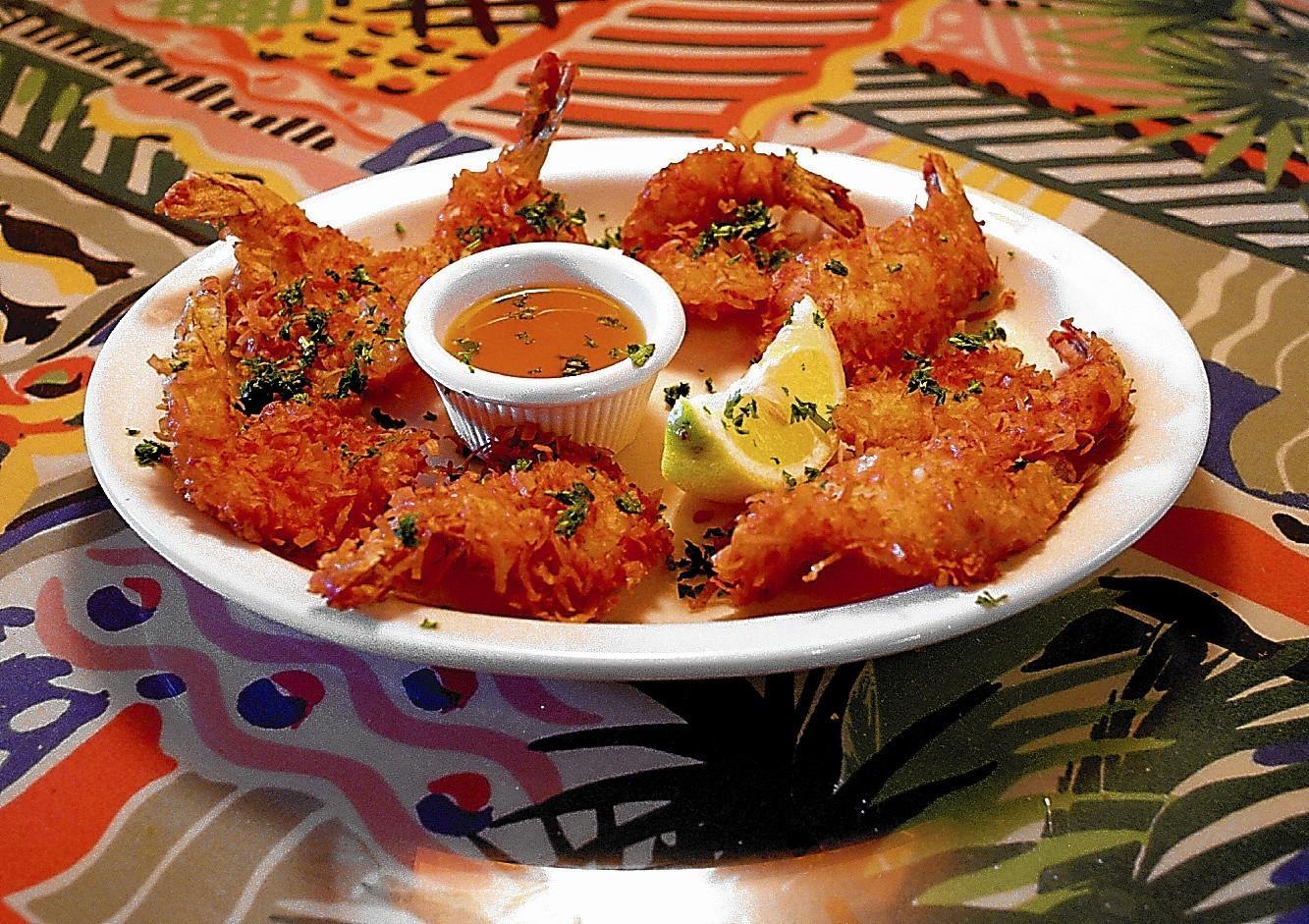 Coconut shrimp was a popular menu item at Straub's Seafood.