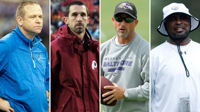 John Harbaugh identifies four of the Ravens offensive coordinat…
