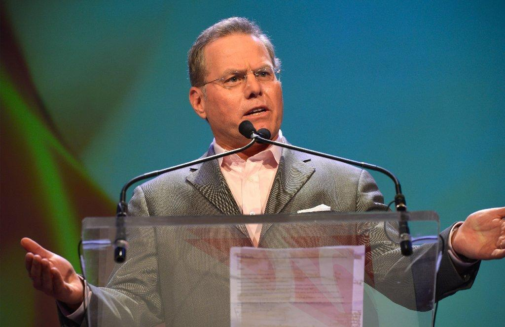 Discovery Chief Executive David Zaslav.