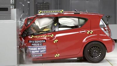 Chevy Spark only subcompact car to pass insurance group crash test