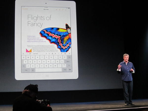 Apple's Eddy Cue announced an expansion of the company's ed
