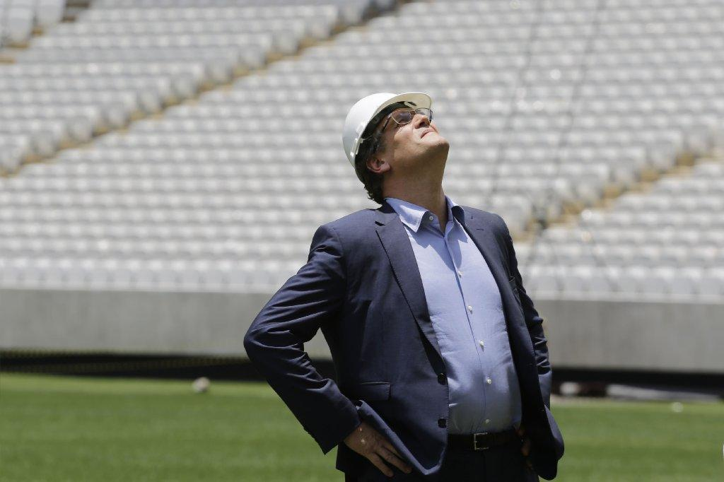 """We cannot organize a match without a stadium. This has reached a critical point,"" Jerome Valcke, FIFA's secretary general, says of construction delays in Curitiba, Brazil."