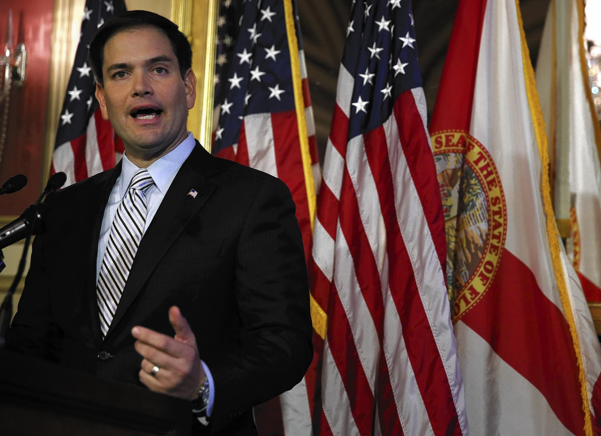 Sen. Marco Rubio has introduced legislation to repeal the risk-corridors provision in the Affordable Care Act that offers protection to insurance companies.