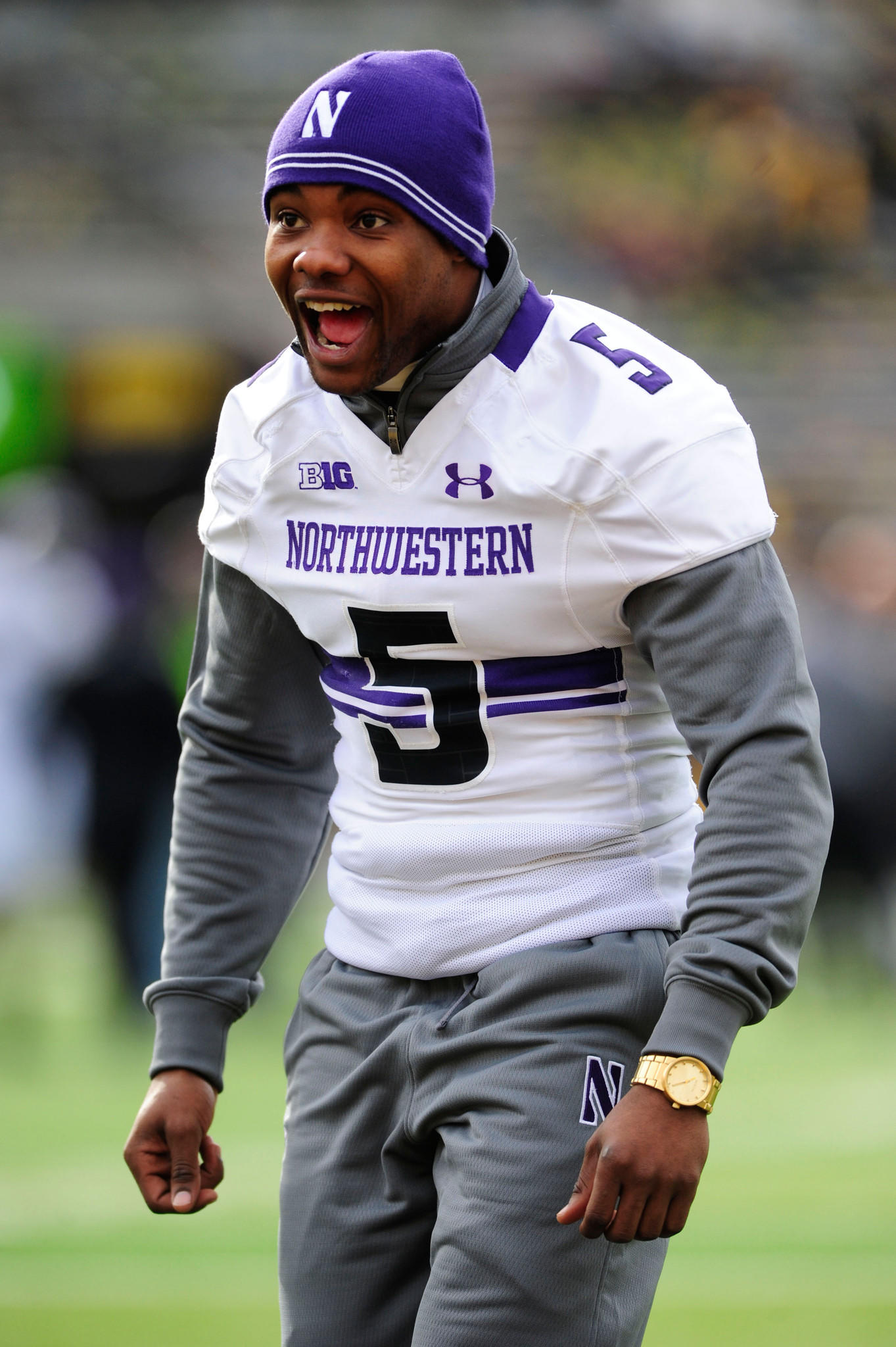 Northwestern running back Venric Mark.