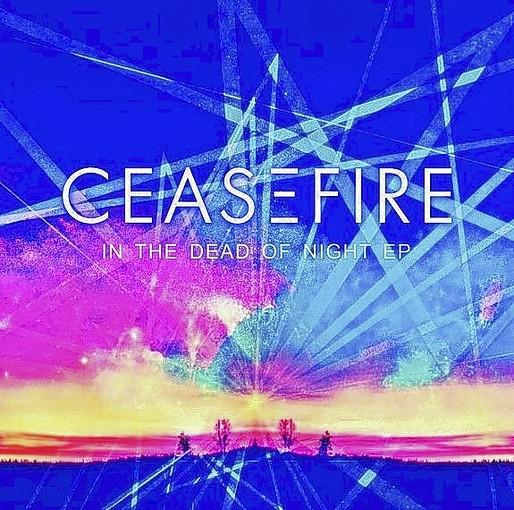 "Ceasefire's ""In the Dead of Night"" album cover."
