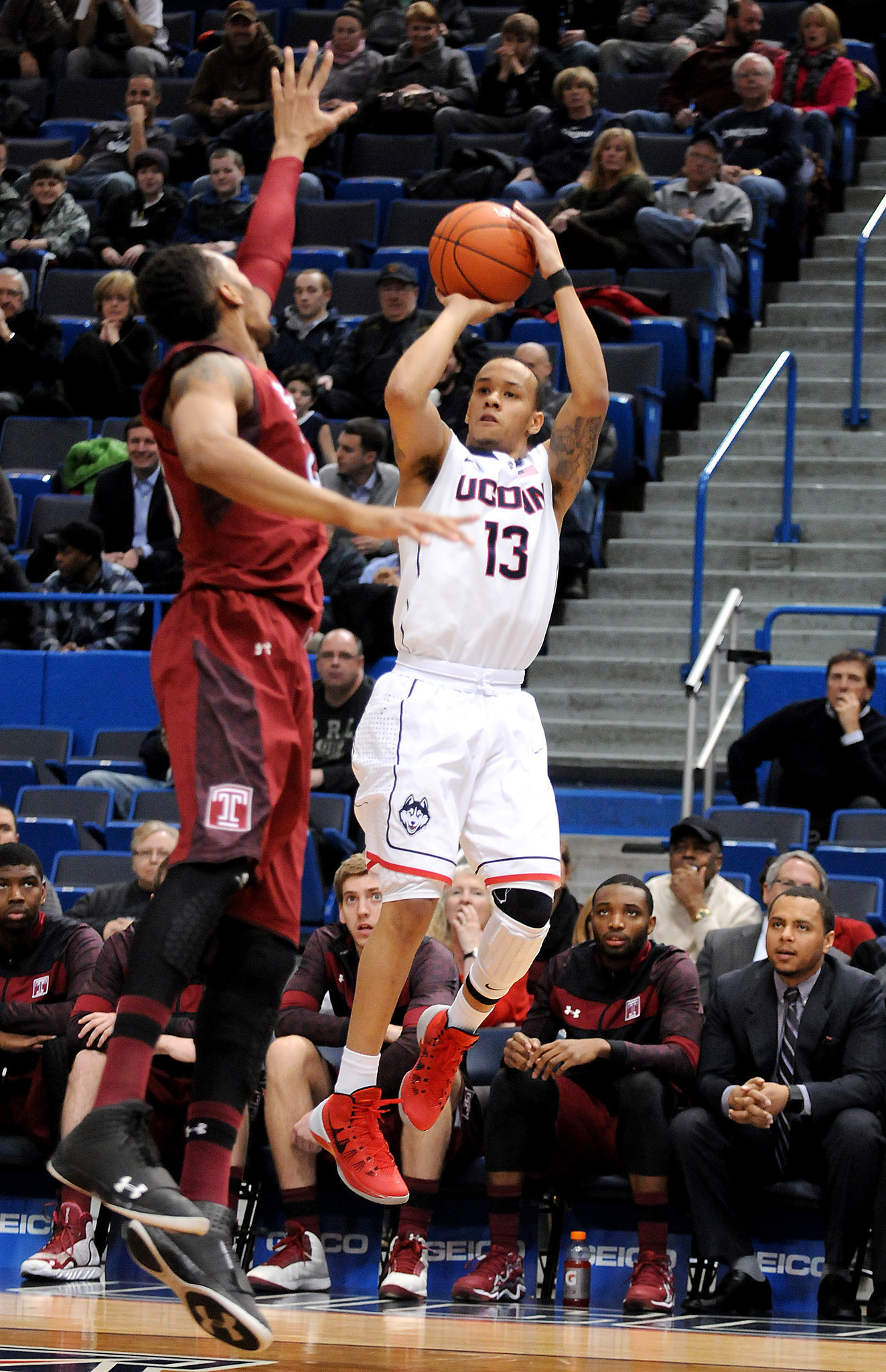 Pictures: UConn Men's Basketball vs. Temple, Jan. 21, 2014 ...