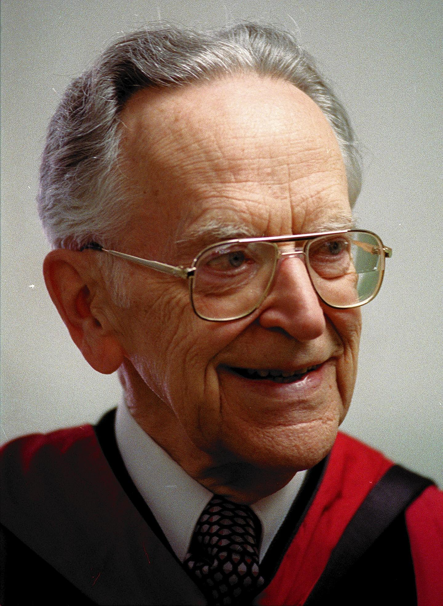 Former Supreme Court Justice Harry Blackmun