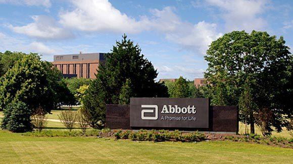Abbott headquarters in North Chicago.