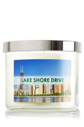 According to Bath & Body Works, Lake Shore Drive smells quite lovely.