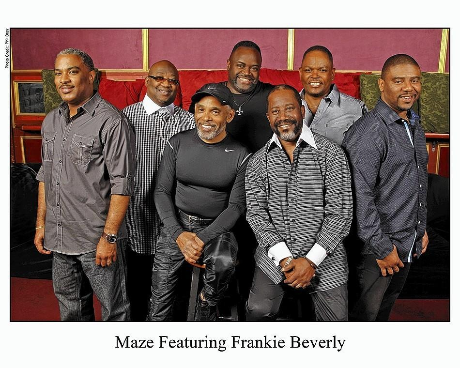 "MAZE featuring Frankie Beverly, a soul band with hits such as ""Joy and Pain,"" will perform Feb. 1 as part of the outdoor Festival of the Arts in Eatonville."