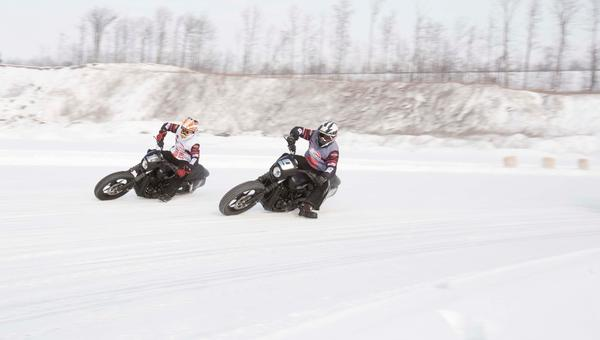 Harley-Davidson, promoting its new 500cc and 750cc Street motorcycles, will outfit some for ice racing at the upcoming ESPN X-Games.