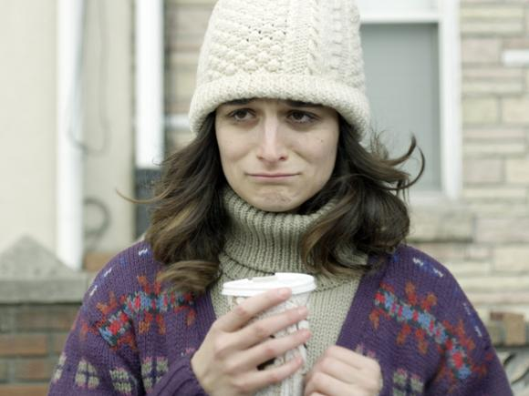 "Jenny Slate stars in ""Obvious Child."""