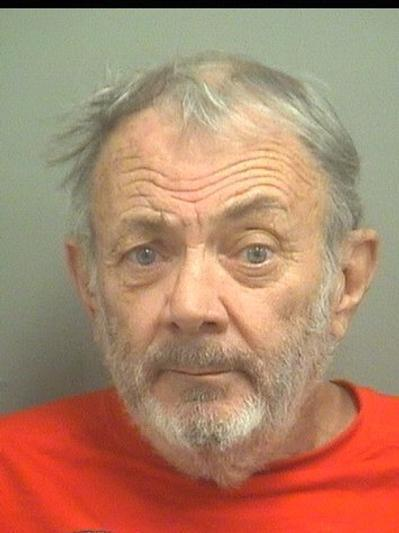 William Hubeaut, 72, of Boynton Beach, is accused of purposely rear-ending the car of another driver after honking and flipping off the driver.