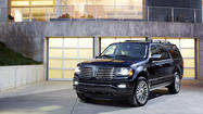 Lincoln announces refreshed 2015 Navigator SUV