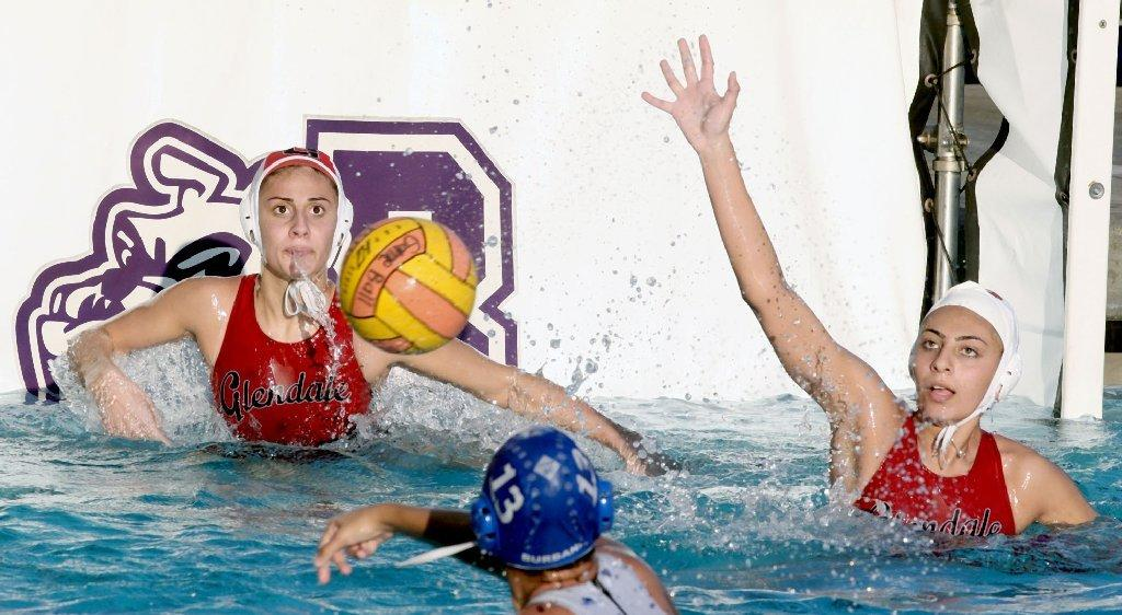 Glendale High girls' water polo defeated Burbank in Pacific League play.